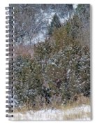 Dakota West In Winter Spiral Notebook