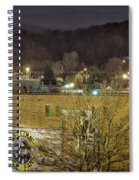 Dale Earnhardt Mural And Christmas Star Spiral Notebook