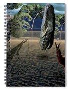 Dali's Llama Spiral Notebook