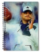 Dallas Cowboys.dak Prescott. Spiral Notebook