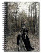 Damsel Of The Forest Spiral Notebook