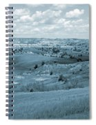 Dance Of The Clouds And Sun Spiral Notebook