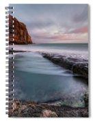 Dancing Ledge - England Spiral Notebook