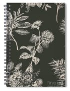 Dark Botanics  Spiral Notebook