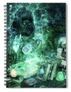 Dark Mage Spiral Notebook