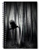 Darker - Raven Spiral Notebook
