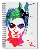 Daryl Watercolor II Spiral Notebook