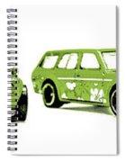 Datsun 510 Comic Strip Spiral Notebook