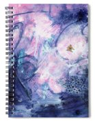 Day Fifty-two - Dreamscape Spiral Notebook