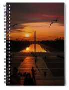 Dc Sunrise Spiral Notebook