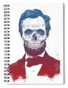 Dead Lincoln Spiral Notebook