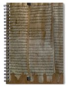 Dead Sea Scroll Spiral Notebook