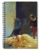 Death Of Imelda Lambertatstsi Spiral Notebook