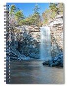 December Morning At Awosting Falls 2018 Spiral Notebook