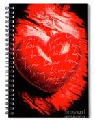Decorated Romance Spiral Notebook