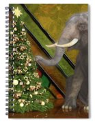 Decorating The Perfect Tree Spiral Notebook