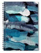 Deep Blue #1 Spiral Notebook