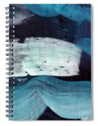 Deep Blue #3 Spiral Notebook