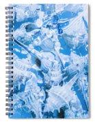 Deep Blue Spiral Notebook