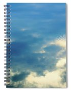 Deep Blue Sky Spiral Notebook