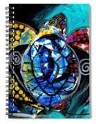Deep Sea Sea Turtle Spiral Notebook