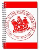 Delaware Seal Stamp Spiral Notebook