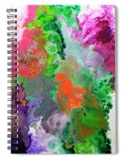 Delicate Canvas Two Spiral Notebook