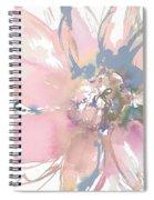 Delicate Flower Burst    Spiral Notebook