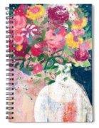 Delightful Bouquet- Art By Linda Woods Spiral Notebook