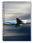 Delta Air Lines Boeing 767-332 Spiral Notebook