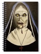 Demon Nun Spiral Notebook