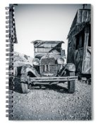 Depression Era Dust Bowl Car Spiral Notebook