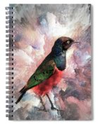 Desaturated Starling Spiral Notebook