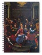 Descente Du Saint Esprit 1635 Spiral Notebook
