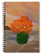 Desert Blooms Spiral Notebook