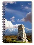 Desert Host Impressions Spiral Notebook