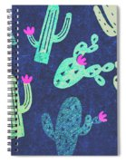 Desert Nights Spiral Notebook