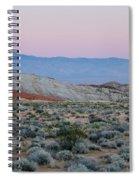 Desert On Fire No.2 Spiral Notebook