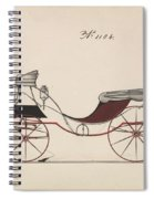 Design For Eight Spring Victoria, No. 1104  1850-74 Spiral Notebook