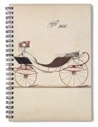 Design For Eight Spring Victoria, No. 966  1850-74 Spiral Notebook