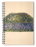 Design For Floral Lamp  Louis Comfort Tiffany American, New York 1848-1933 New York Spiral Notebook