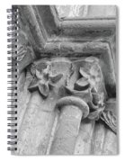 Detail Of The Medieval Portal Of Saint Marys Church In Tavira. Portugal Spiral Notebook
