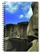 Devil's Den Rock Forms Spiral Notebook