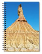 The Desert Of The Royal Bardenas Spiral Notebook