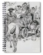 Dick Turpin, Rookwood Spiral Notebook