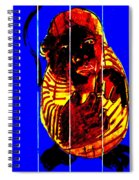 Digital Monkey 3 Spiral Notebook