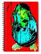 Digital Monkey 4 Spiral Notebook