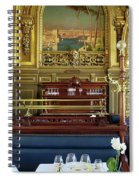Dining At Le Train Bleu Spiral Notebook