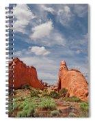 Dinosaur Shaped Rock Spiral Notebook