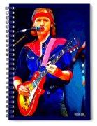 Dire Straits Mark Knopfler Spiral Notebook